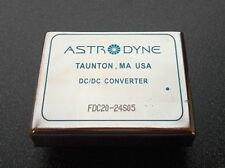 Astrodyne Fdc20-24S05 Isolated and Regulated 20W Dc/Dc Converter: 24Vin 5Vout