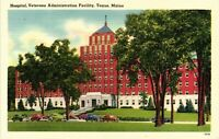Vintage Postcard - Linen Hospital Veterans Admin Facility Togus Maine ME #5028