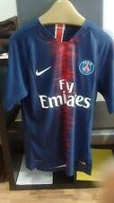 Camiseta casa titular PSG 2018/2019. Talla L Mbappe