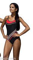 New women swimming costume one piece swimsuit sport swimwear UK Size 8 10 12 14