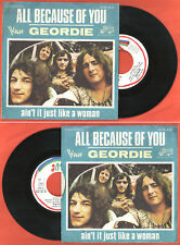 "FRENCH 7"" GEORDIE (Brian Johnson AC/DC) All because of you + 1 VOGUE 45 RB 4219"