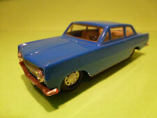 PLASTIC OPEL REKORD A COUPE 2-DOORS - BLUE 1:32? - SELTEN - VERY GOOD - PLASTIK