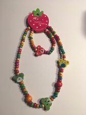 Wooden Beads (BEARS) Children's Necklace & Bracelet Sets-K9