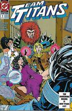 Team Titans Comic Issue 7 Modern Age First Print 1993 Marv Wolfman Phil Jimenez