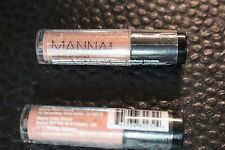 2x Manna Kadar Beauty Lip Locked Priming Gloss Stain In Shade ROSETTE 1.5g each!