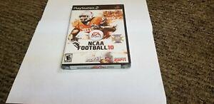 NCAA Football 10 (Sony PlayStation 2, 2009) new ps2