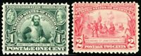 328-29, Mint OG NH Fresh Stamps! Cat $140.00 PRICED LOW! - Stuart Katz