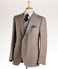 NWT $5600 CESARE ATTOLINI Soft Herringbone Wool Sport Coat 40 R (Eu 50)