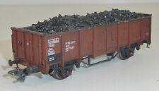 M & D Modellbau 214 DB Hochbordwagen E 039 gealtert mit Kohleladung OVP H0