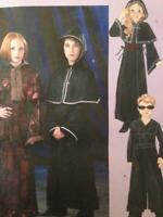 McCalls Sewing Pattern 4621 Girls Boys Gothic Coat Capelet Size MD-XL Uncut