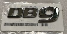Genuine Aston Martin DB9 Script Emblem Badge OEM Brand NEW Part# 4G43-001B40-BA