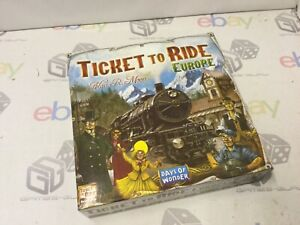 Days Of Wonder Ticket To Ride Europe Board Game - Lockdown