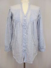 Linea weekend UK 8 smock shirt with hitched hem lagenlook Summer casual