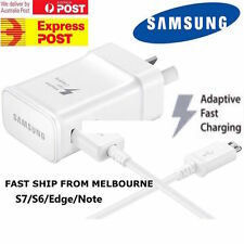 Genuine Samsung Adaptive Fast Charging Wall Charger Travel Adapter+Data Cable
