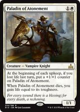 PALADIN OF ATONEMENT Rivals of Ixalan MTG White Creature — Vampire Knight Rare