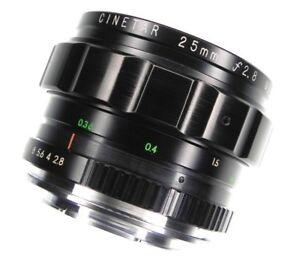 Cinetar 25mm f2.8 Nikon SLR mount  #V5833