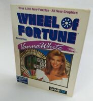 Wheel of Fortune Featuring Vanna White (PC, 1991) GAMETEK - Windows PC Game!