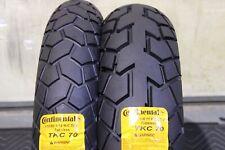 BMW G310 GS 110/80R19  150/70R17 CONTINENTAL RADIAL TKC 70 DUAL SPORT TIRE SET