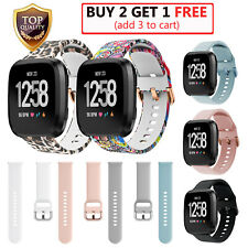 For Fitbit Versa 1 2 Lite Watch Replacement Silicone Rubber Band Strap Wristband