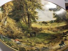 Coalport John Constable The Cornfield Collection Plate
