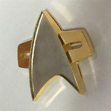Cosplay Star Trek Badge Star Trek Voyager Communicator Badge Pin Brooch Prop New