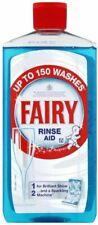 2 X Fairy Rinse Aid 475ml Dishwasher Liquid Glass Shine Cleaner