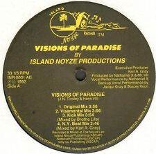 Island Noyze Productions – Visions Of Paradise - Island Noyze - INR 0001 AB Usa