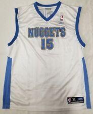 fe301a94 Carmelo Anthony Denver Nuggets Reebok NBA jersey men sz XL blue gold