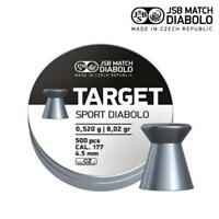 JSB Target Sport .177 Air Rifle Pellets Air Gun Ammunition Tins of 500