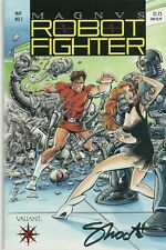 Jim Shooter signed Magnus Robot Fighter #1 in NM condition