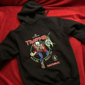 Official Embroidered Hoodie (2XL) BODEBROWN TROOPER BRAZIL IPA Iron Maiden Beer