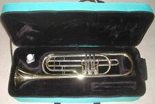 Trompette basse siB NAUTILE neuve à palettes avec étui et embouchure, trompete