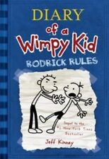 Rodrick Rules, Diary of a Wimpy Kid, Book 2, Hardcover, New, Free Shipping