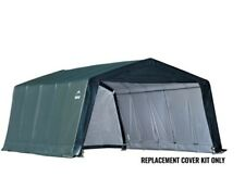 Shelterlogic Replacement Cover 90504 fits 10x10x8 Shed-in-a-Box