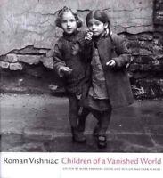 Children of a Vanished World by Roman Vishniac (1999, Hardcover)