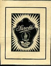 Sarotti-S-I-Pack -- LOGO -- parrot -- CANDY -- advertising - 1921