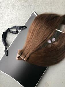 Russian natural slavic hair tape-in extensions 16 inch