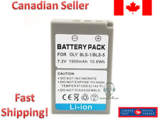 Replacement Battery for Olympus for BLS-1 BLS-5 E-P3, E-PM1, E-PL1, E-PL2, E-PL3