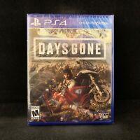 Days Gone (PS4 / PlayStation 4, 2019) BRAND NEW / Region Free