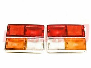 Lights Rear Right Left Fiat 132 Gl GLS Original