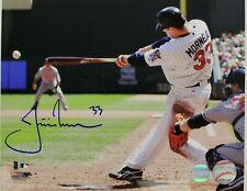 Baseball-mlb Justin Morneau Autographed Signed 2006 Al Mvp Baseball Ball Twins Jsa Coa Pretty And Colorful