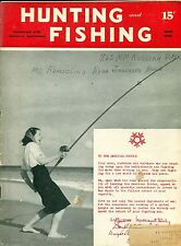 Hunting and Fishing--June 1945-----324
