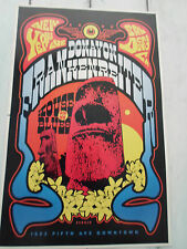 "DONAVON FRANKENREITER Concert Poster SCROJO San Diego HOUSE OF BLUES 11""x17"""