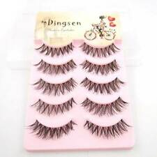 5 Pairs/Lot Natural Crisscross Black Daily False Eyelashes Fashion Eye Lashes