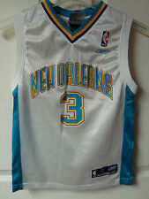 Vintage New Orleans Hornets Chris Paul # 3 Youth Small (8) Basketball Jersey
