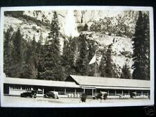 Yosemite Ca~1930's Yosemite Lodge~Real Photo Pc