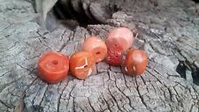 Antique Natural red   Coral Beads 255 ct