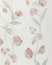 1 Roll SERENA & LILY Sweet Pea Blush Floral Wallpaper $148 Direct -or- $74 HERE!