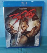 300 RISE OF AN EMPIRE, BLU RAY SINGLE DISC W/CASE & COVER ARTWORK