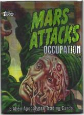 MARS ATTACKS OCCUPATION TOPPS 2015**LUCKY HIT HOT PACK VERY LIMITED PRODUCTION